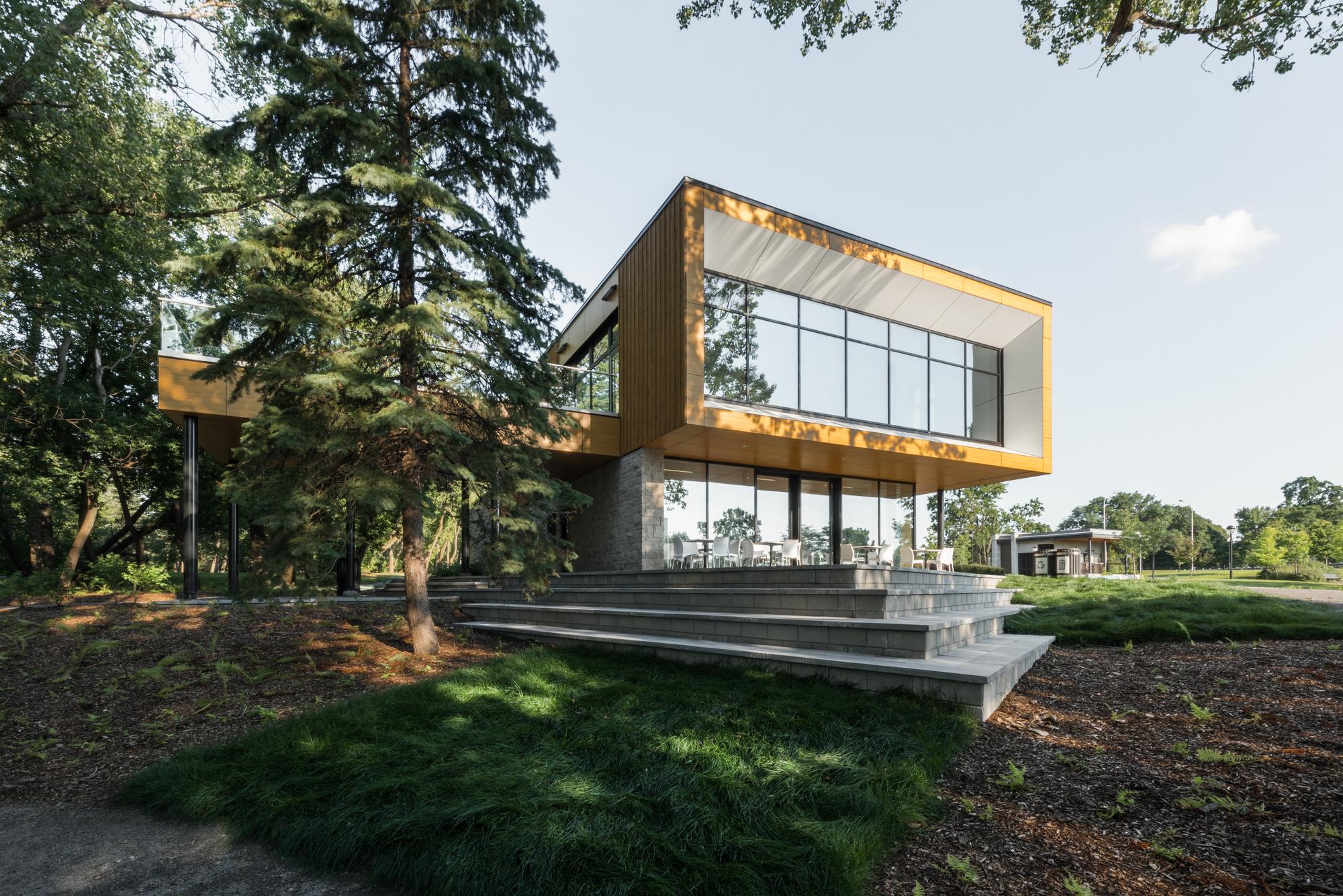 Parcours Gouin Parc Pavilion / Birtz Bastien Beaudoin Laforest architects _ Groupe Provencher_Roy
