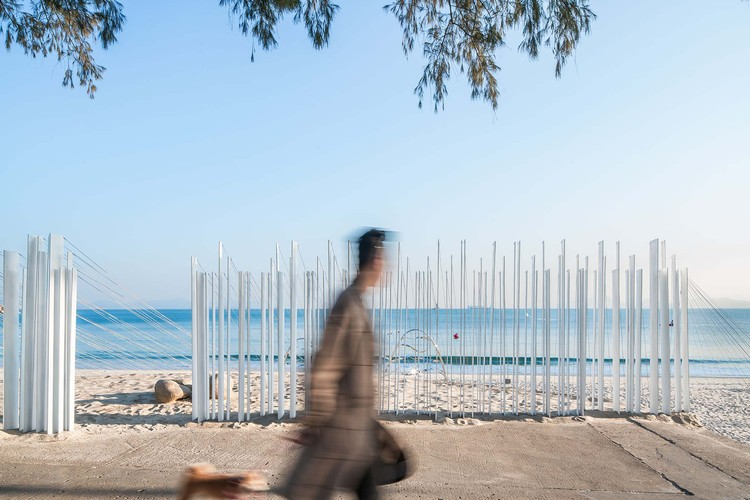 Intangible Sound provides a unique space for local people. Image © Bai Yu