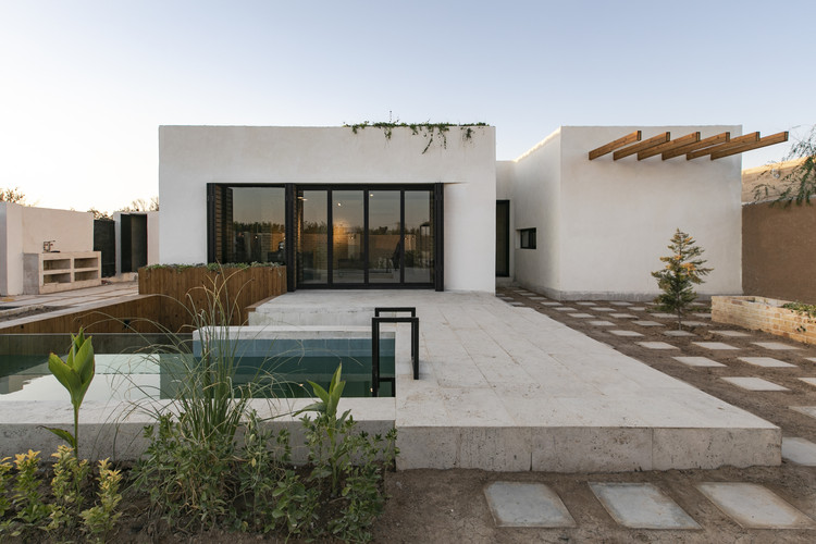 Residência Branca / EZ Studio, © Ali Gorjian