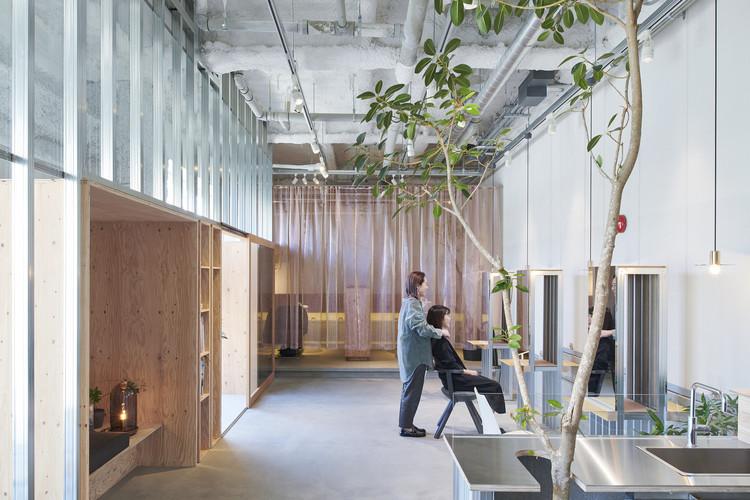 Atelier Toiro Salon  / Hitotomori Architects, © Hiroki Kawata