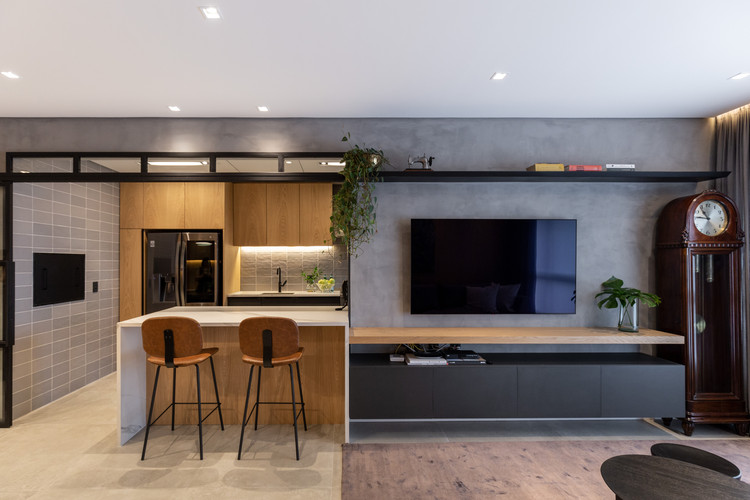 Apartamento Meine / 6mm Arquitetura, © Marcelo Donadussi
