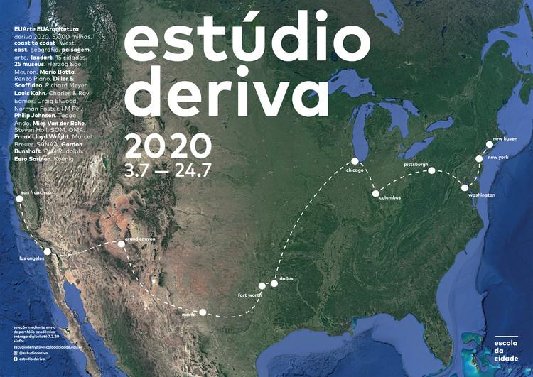 Escola da Cidade - Programa Estúdio Deriva 2020 nos EUA, Estúdio Deriva 2020