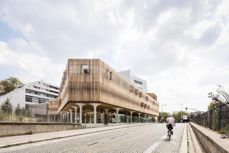CIL – Residencial Simone Veil / Vincent Parreira Atelier Architecture AAVP, © Luc Boegly