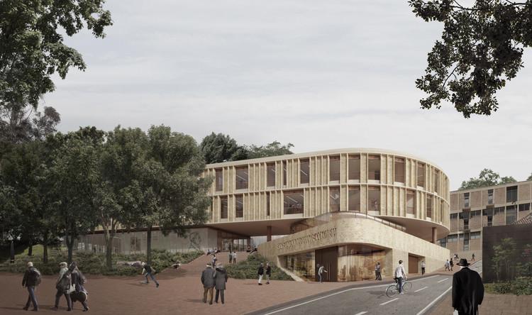 Los proyectos ganadores del concurso Edificio Sociedad Bolivariana de la Universidad de los Andes, Cortesía de Juan Pablo Ortiz Arquitectos