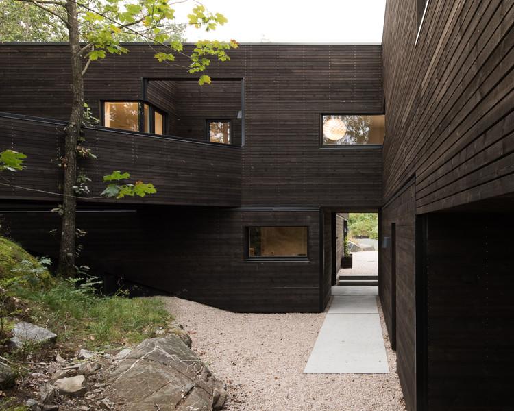 Villa Bamble  / Aslak Haanshuus Arkitekter, © Aslak Krogness Haanshuus
