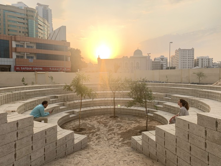 Cooking Sections and AKT II Design Water-less Garden for Cities, Courtesy of Cooking Sections