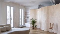 Cintas de madera en apartamento de Paris / Toledano+Architects