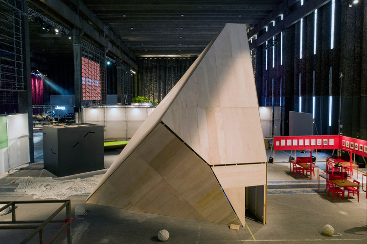 Instalação Iceberg / André Jost Mafra + Leo Ceolin + Fernando Velázquez, © Ignacio Aronovich