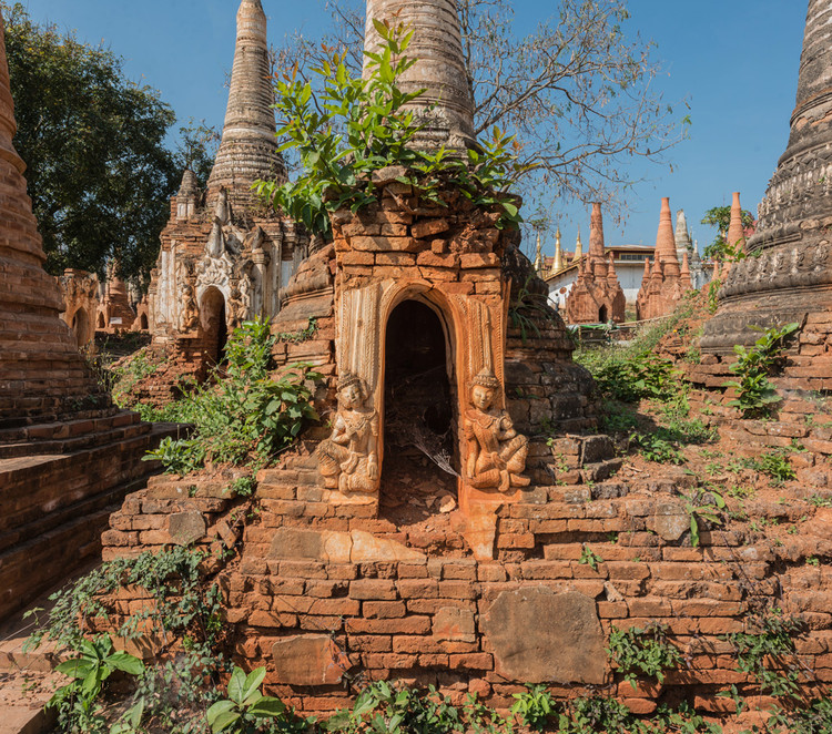 A Lost Village of Buddhist Treasures , © Romain Veillon