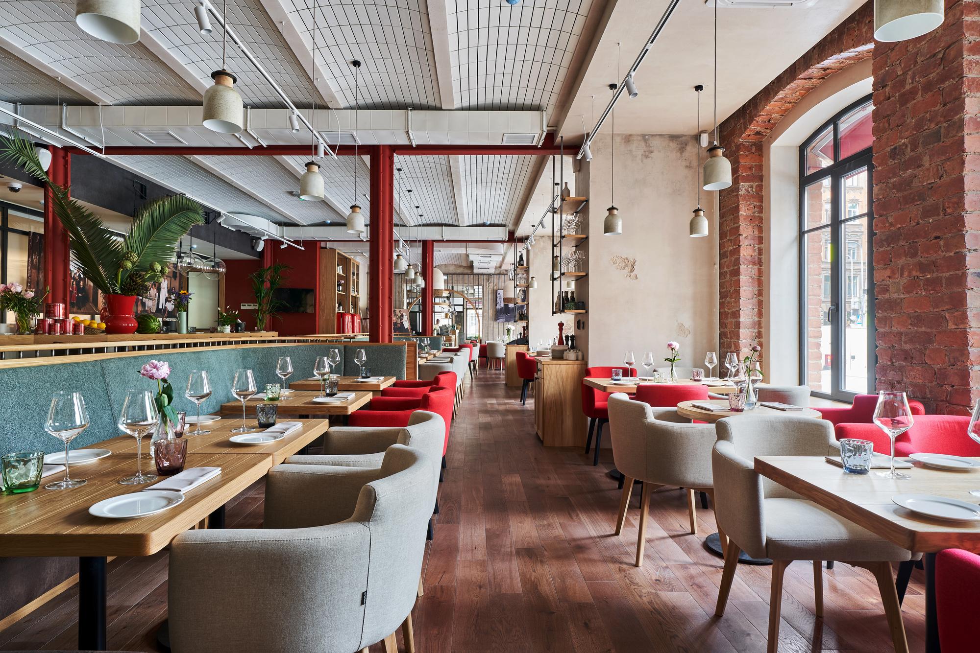 Italy Restaurant Paum Design Archdaily