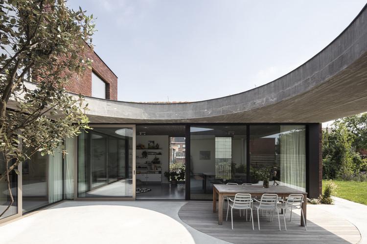 AN House / MADAM architectuur + Studio Maarten Tierens, © Tim Van de Velde
