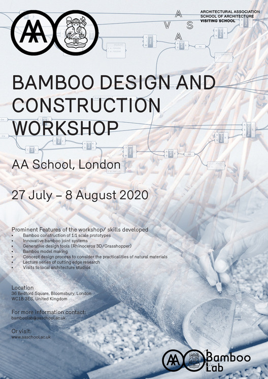 AA/ITB Advanced Bamboo Design and Construction Summer Workshop