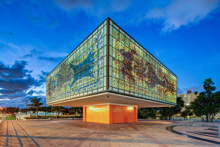 YoungArts Campus Tours, The Jewel Box at the YoungArts Campus in Miami, FL