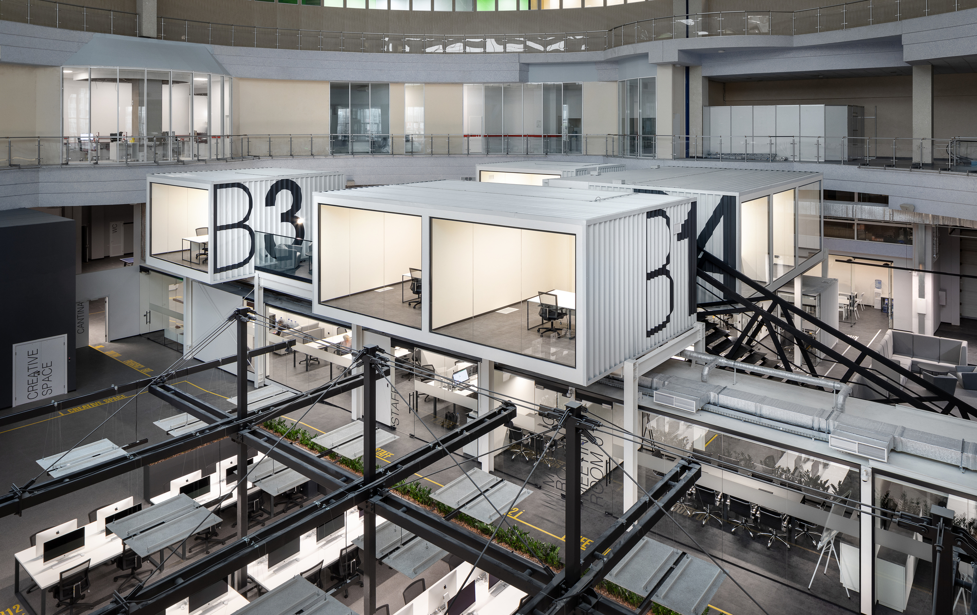 IT Factory Unit Factory in Kharkiv / TSEH Architectural Group