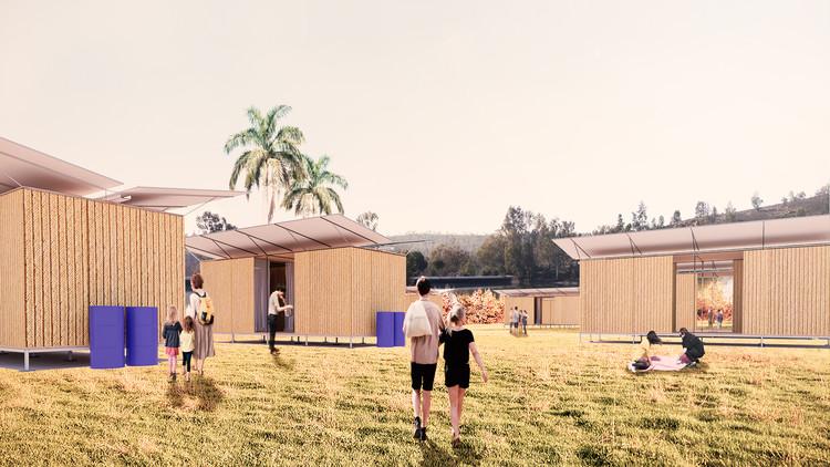 Estudante propõe habitações temporárias para imigrantes venezuelanos, Perspectiva. Image Cortesia de Rodolfo Cavalcanti