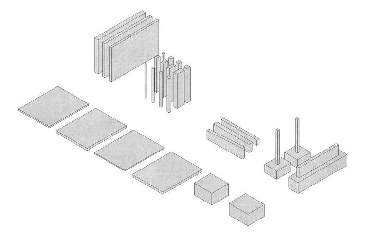 Descarga y aplica 29 materiales de Hormigón en tu proyecto BIM, © Cristián Weason