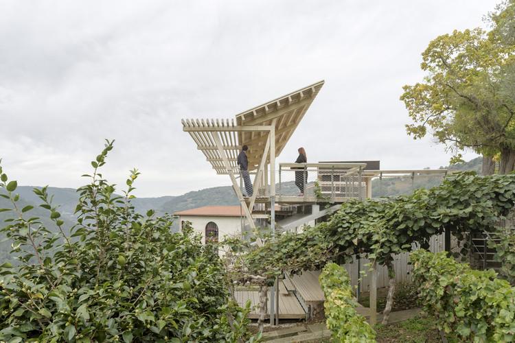 Mirador da Cova / ARROKABE Arquitectos, © Luis Díaz Díaz