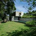 06   From Pool Lawn - Pia's Villa / MMGS ARCHITECTS: Biệt thự hiện đại trên đồi với không gian thoáng tự nhiên