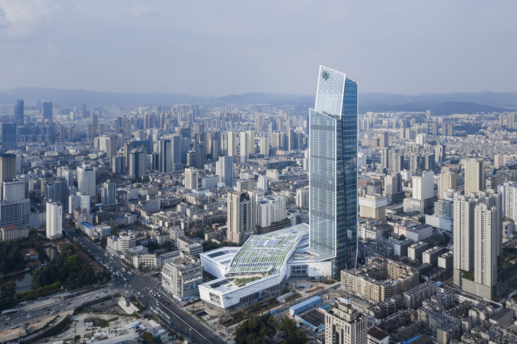 KPF Completes Spring City 66, a Mixed-Use Development in Kunming, China, © KPF