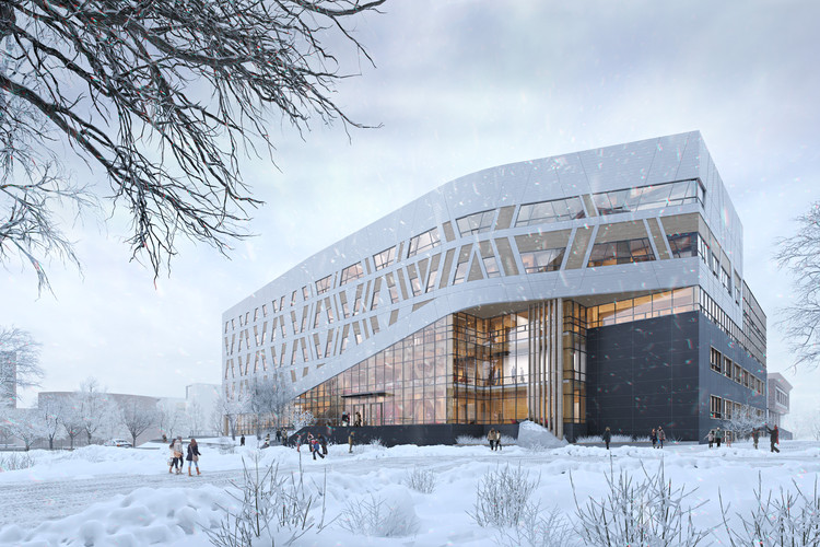 Dialog Announces Canada S First Zero Carbon Mass Timber Higher Education Building Archdaily