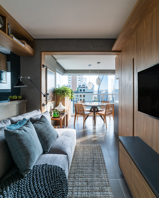 Apartamento JK / Pietro Terlizzi Arquitetura, © Guilherme Pucci