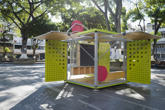 Instalación Cubo Catalizador / Will Sandy Design Studio + Incursiones