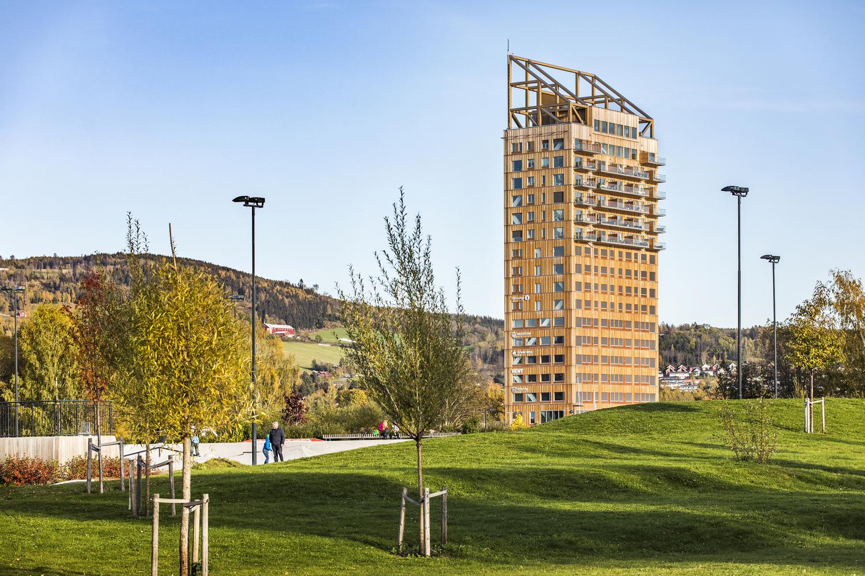 Mjøstårnet The Tower of Lake Mjøsa / Voll Arkitekter