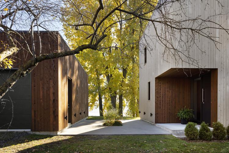 St. Ignace Residence / Nathalie Thibodeau Architecte, © Maxime Brouillet
