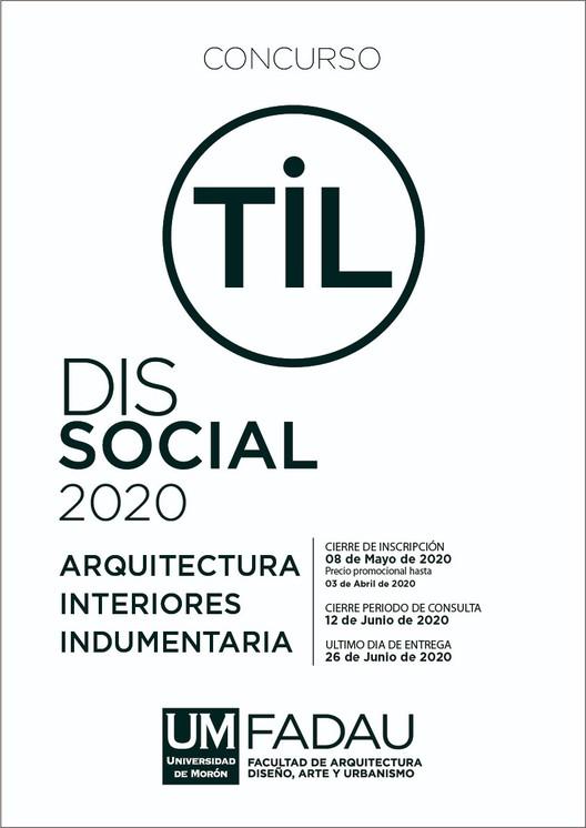 Concurso TiL 2020 para estudiantes de arquitectura y diseño de Latinoamérica, España, Italia y Portugal, Cortesía de Arq. Alejandro Borrachia