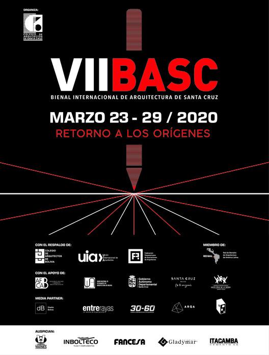 """VII BASC - Bienal Internacional de Arquitectura de Santa Cruz 2020: """"Retorno a los orígenes"""", Cortesía de Bienal Internacional de Arquitectura de Santa Cruz"""