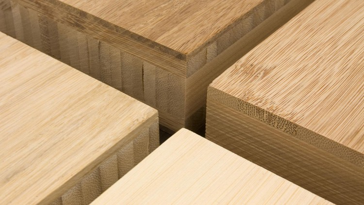How Effective is Laminated Bamboo for Structural Applications?, <a href='http://www.bambooflooringchina.com'>Bamboo Plywood</a>. Image Via Bamboo Flooring China