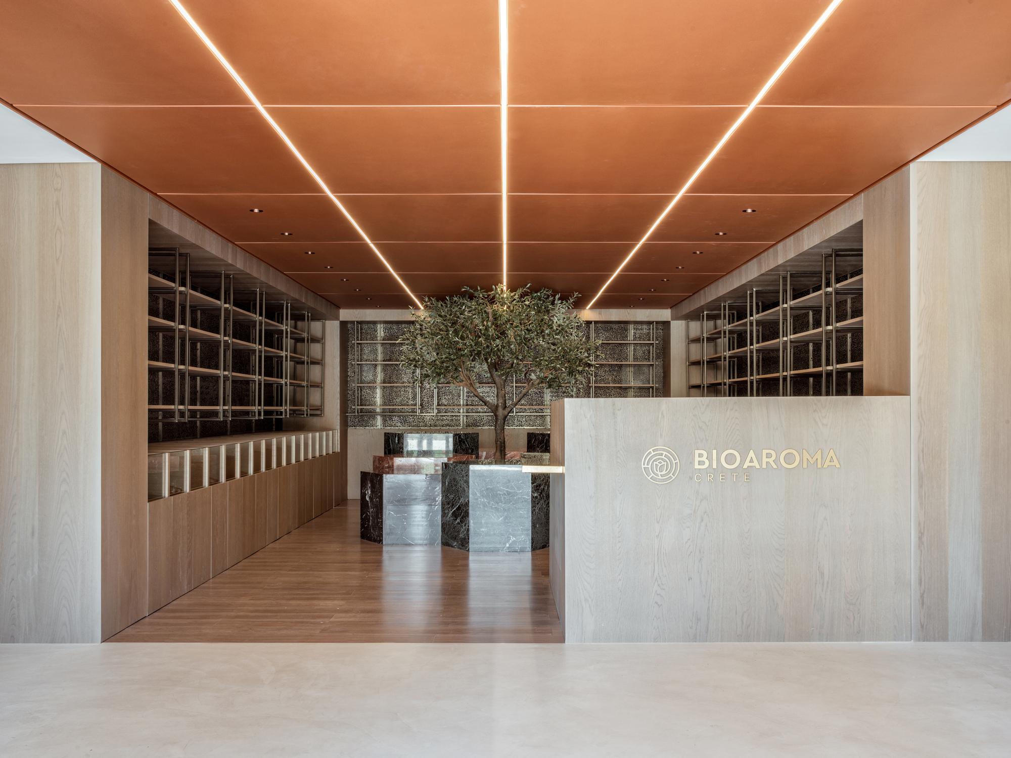 Bioaroma Museum & Experince Store / KAAF | Kitriniaris Associates Architecture Firm