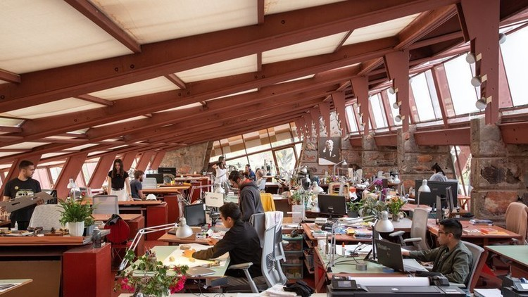 New Petition Aims to Save The School of Architecture at Taliesin, The School of Architecture at Taliesin. Image Courtesy of Simon DeAguero, The School of Architecture at Taliesin