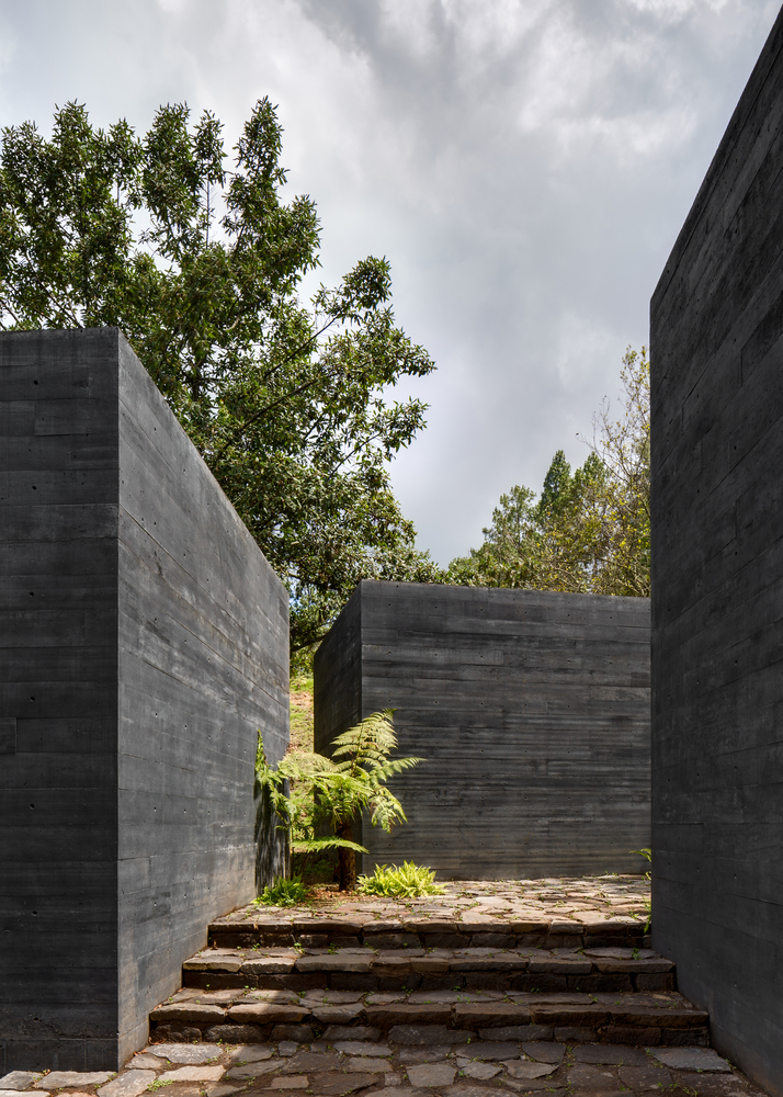 How Black Concrete is Made (and its Application in 7 Projects)