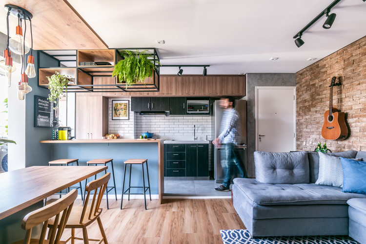 Apartamento Brooklin / Pietro Terlizzi Arquitetura, © Guilherme Pucci