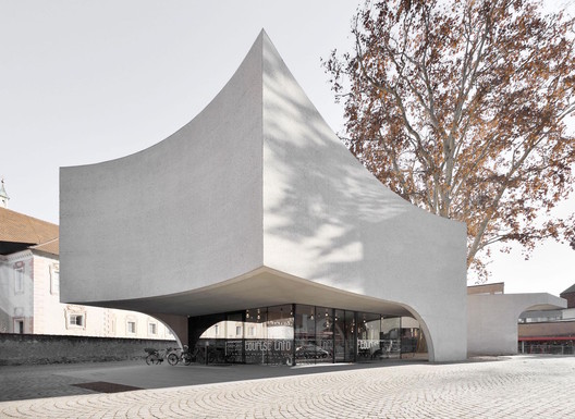 Tourist Information Center by MoDus Architects, awarded selection in the ICONIC AWARDS 2019: Innovative Architecture. Image Courtesy of German Design Council