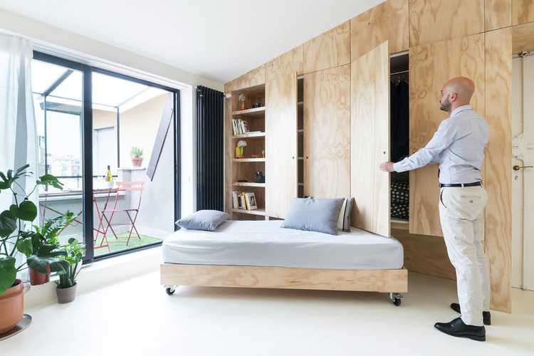 Under 30m²: Multifunctional Solutions in 13 Tiny Apartments, © Federico Villa