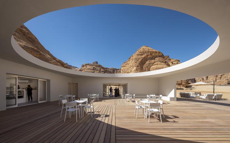 Centro de Visitantes Desert X AlUla / KWY.studio , © Colin Robertson