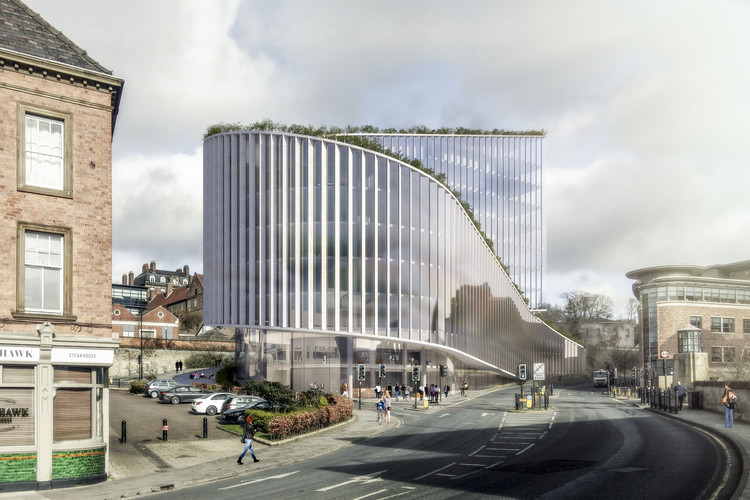 BIG Designs No 1 Quayside, an Office Building in Newcastle, UK, Courtesy of BIG - Bjarke Ingels Group