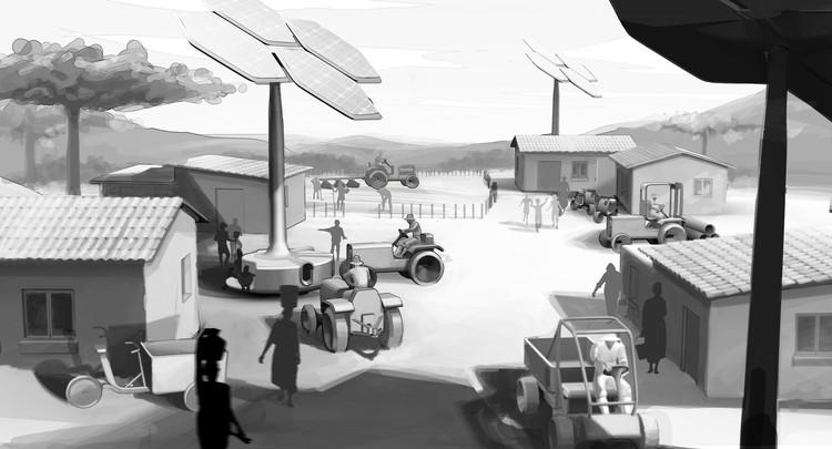 AMO, em parceria com a Volkswagen, pesquisa o futuro da mobilidade rural, Cortesia de Volkswagen