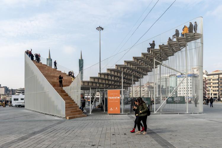 Taksim Pavilion / IND [Inter.National.Design], © Hacer Bozkurt
