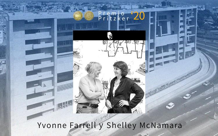 Yvonne Farrell y Shelley McNamara, Premio Pritzker 2020, Cortesía de ArchDaily by Danae Santibáñez
