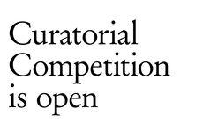 Tallinn Architecture Biennale 2021 Curatorial Competition