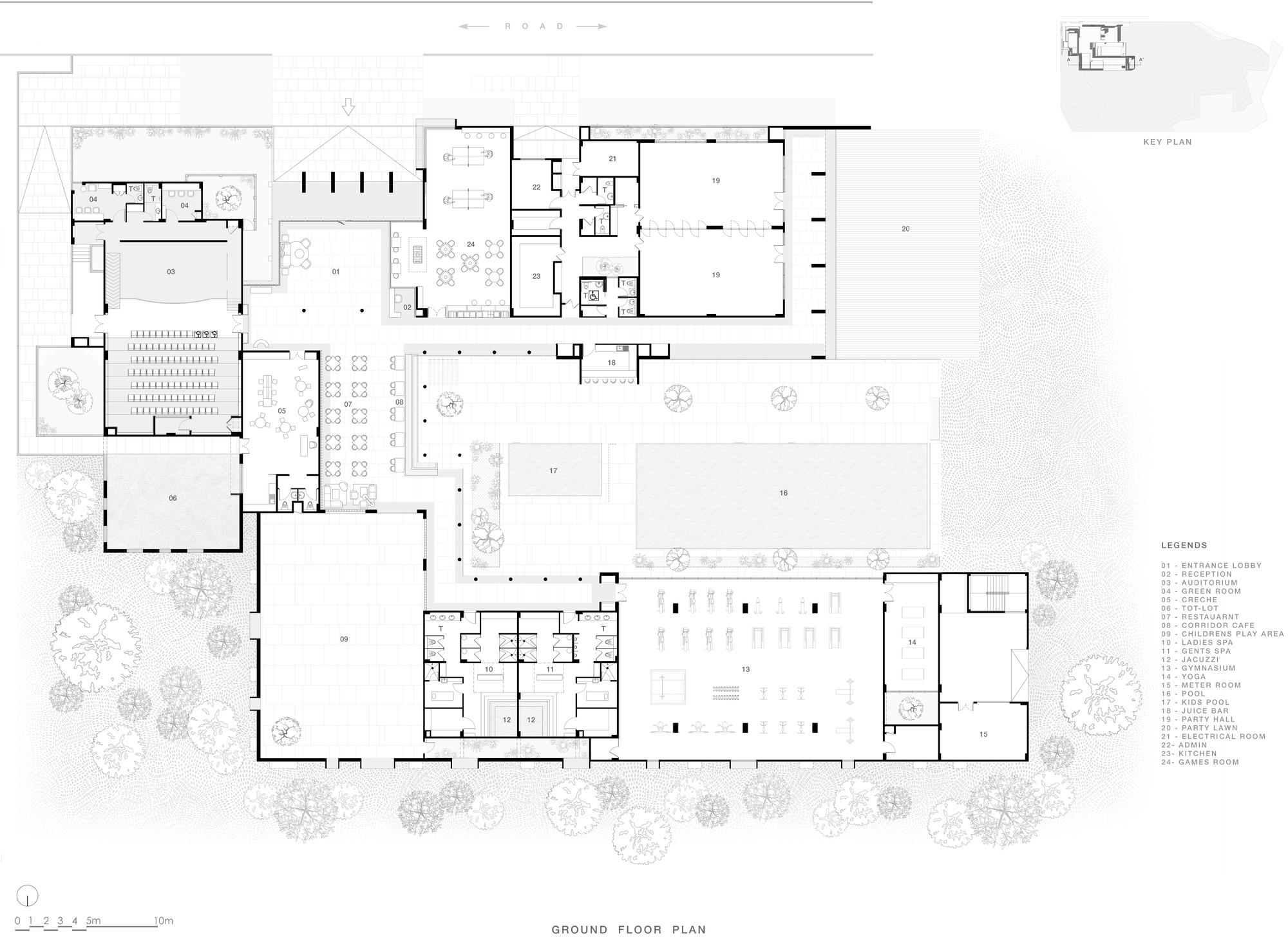 Gallery Of The Centrum Club Abin Design Studio 31
