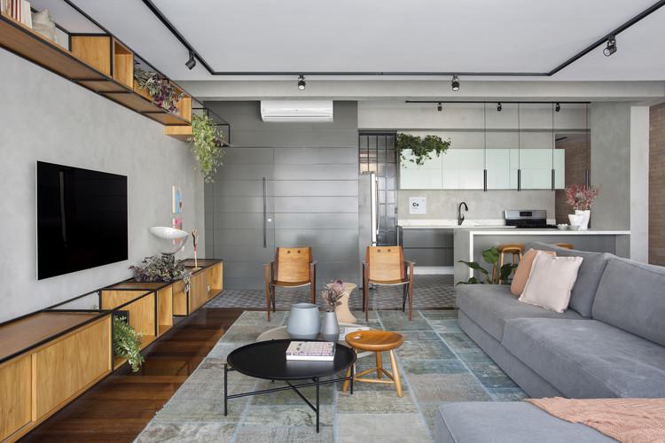 Apartamento Jardim Oceânico / Natália Lemos + Paula Pupo, © Denilson Machado – MCA Estúdio