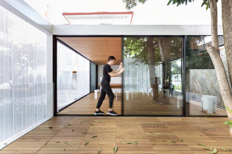 White Pavilion / Arquitetura Nacional, © MARCELO DONADUSSI