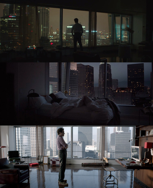 "Theodore's apartment in ""Her"". Screenshot"