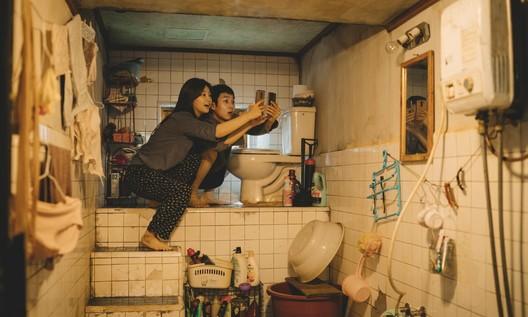 "Kim's house in ""Parasite"". Screenshot"