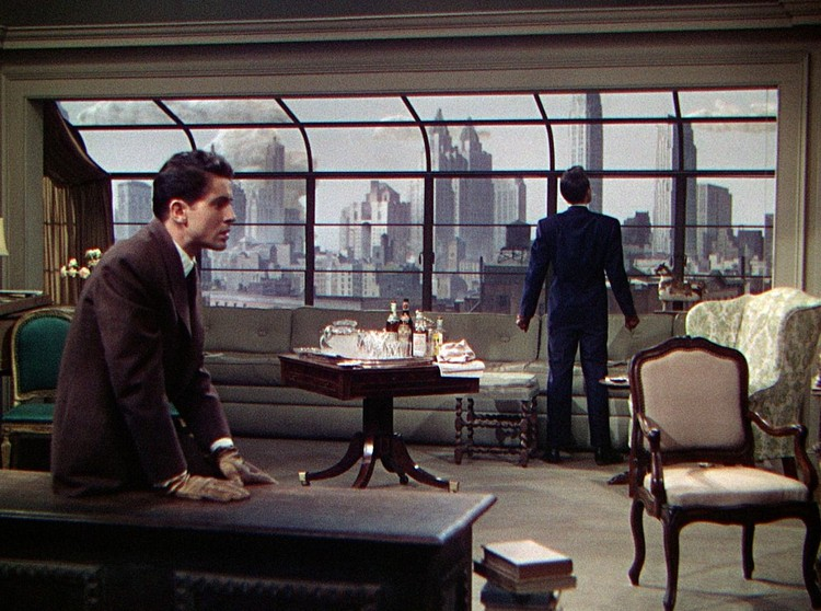 "Penthouse in ""Rope"". Screenshot"