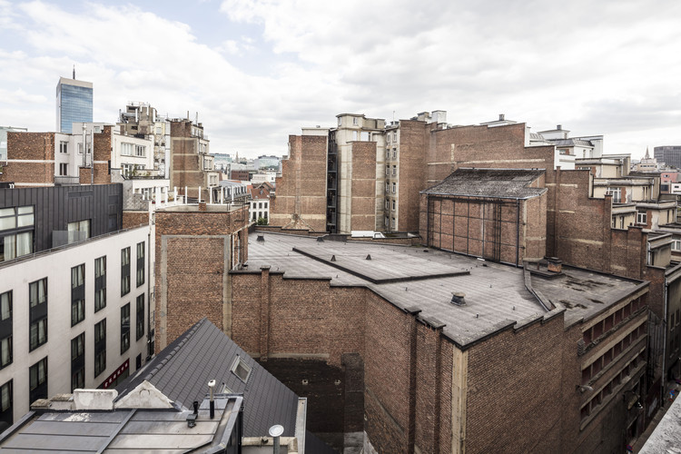 Flores & Prats + Ouest Architecture e a reforma do Ancien Théâtre des Variétés na Bélgica, © Adrià Goula